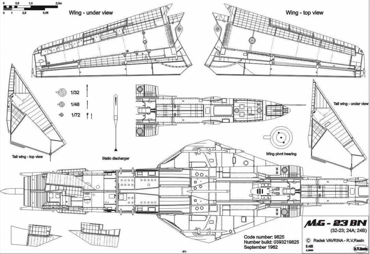R V Aircraft All Categories Mig 23 Flogger 1 48