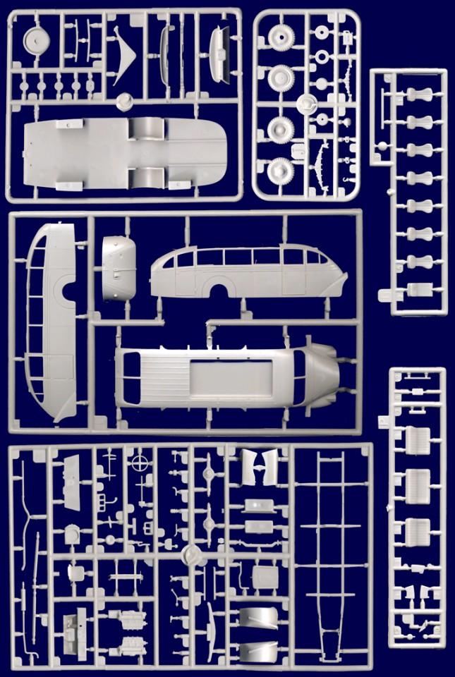 "Roden 724 Opel Blitzbus Ludewig /""Aero/"" 1937 in 1:72"
