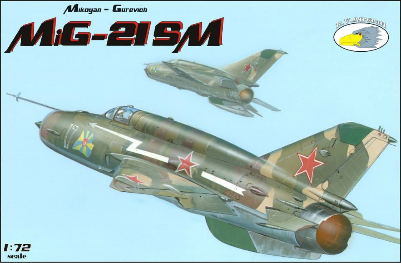 R V  Aircraft - Planes - MiG-21SM - Karaya