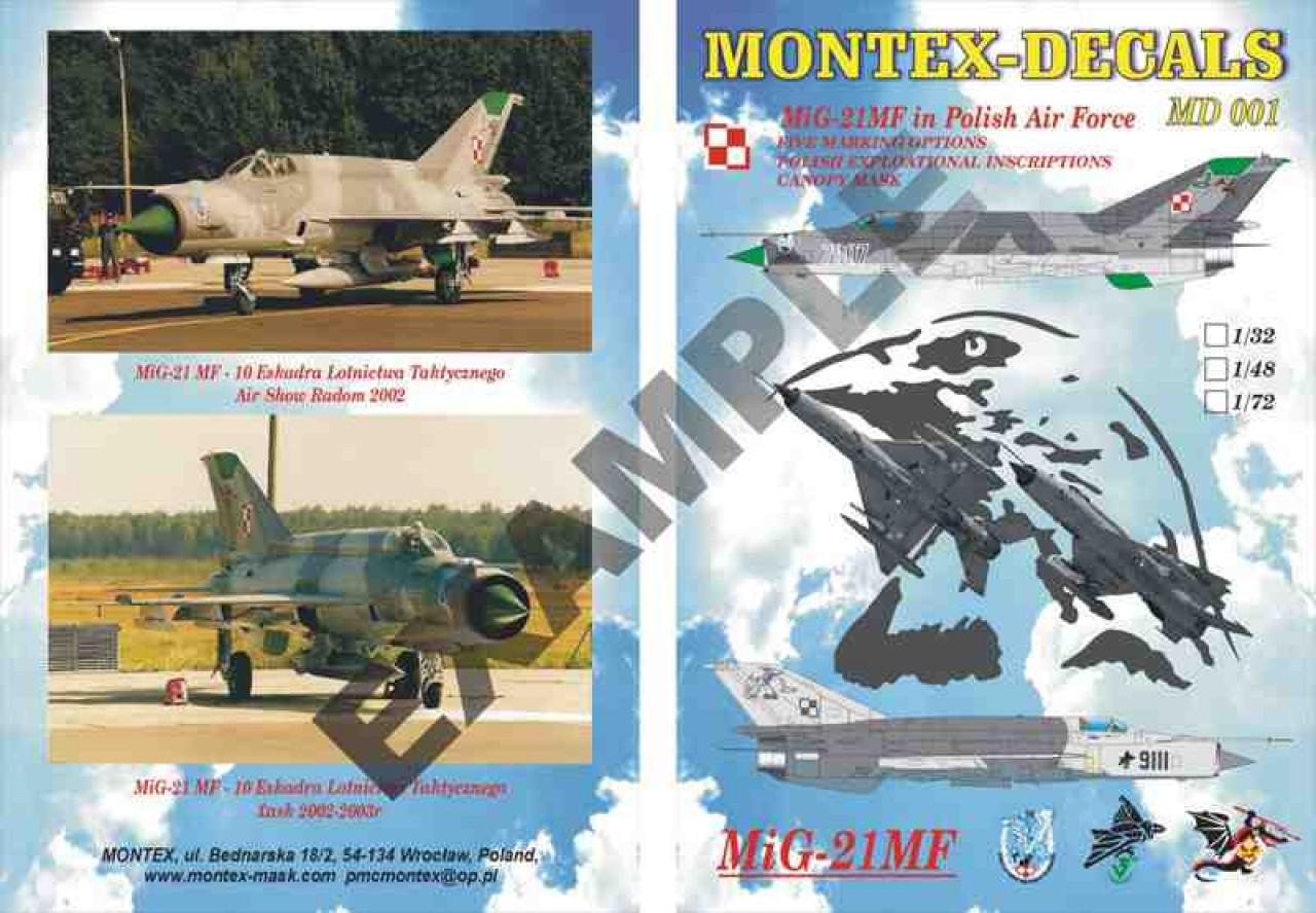 Montex - All categories - MiG 21 MF - Karaya