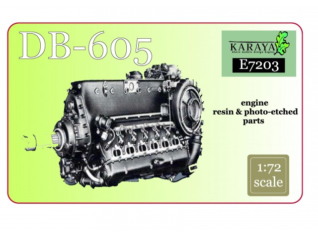 DB-605 Engine – Resin + PE