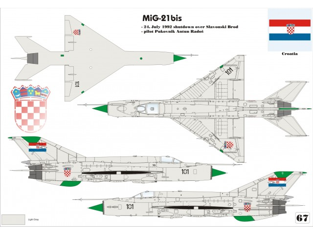 MiG-21bis Over Europe