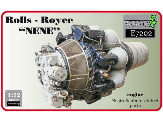 RR Nene British jet engine
