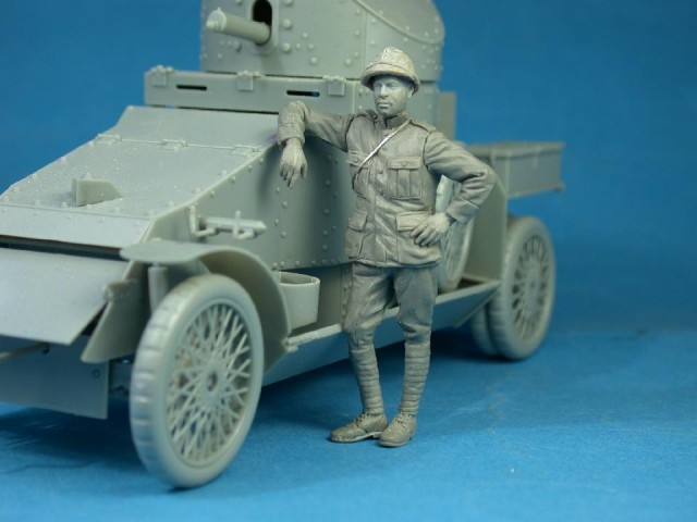 Belgian Armoured car crewman