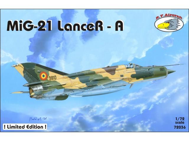 R V  Aircraft - All categories - MiG-21 LanceR-A - Karaya