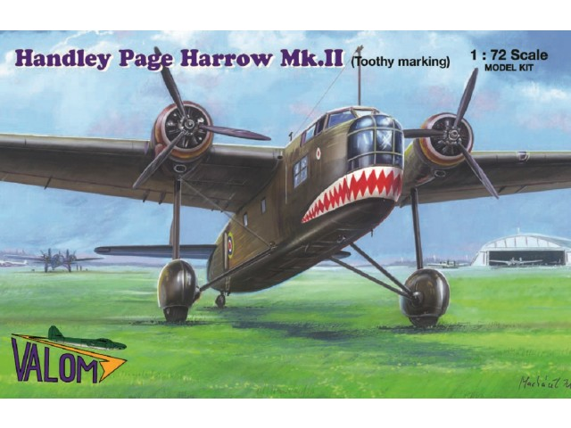 Handley Page Harrow Mk.II (Toothy Marking)