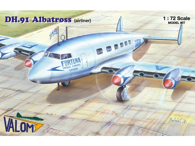 DH.91 Albatross (airliner)