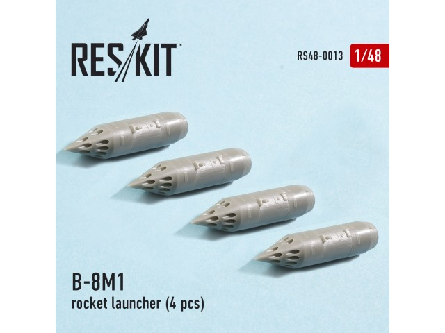 B-8M1 rocket launcher (4 pcs)