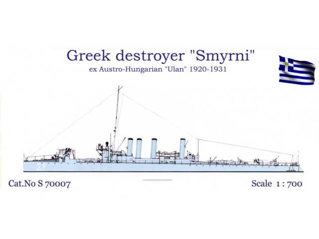 "Greek Destroyer ""Smyrni"" 1920-1931"