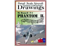 F-4 Phantom II (1/72) Detail  Scale  Aircraft  Drawings