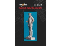 RAF (Polish) fighter pilot end of WW2 resin figurine