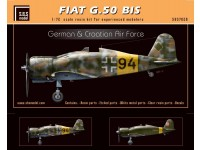 Fiat G.50 bis 'German & Croatian Air Force'