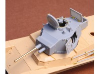 Toldi II (B40) Corrected Turret (with metal barrel) for Hobbyboss Kit