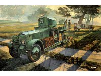 WWII British Armoured Car pattern 1920 Mk.I