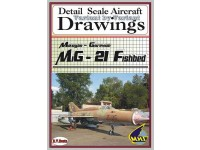 MiG-21 Fishbed Volume 2 (1/48) Detail  Scale  Aircraft  Drawings
