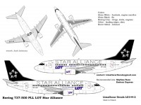 Boeing 737-500 LOT Star Alliance
