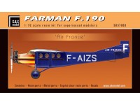"Farman F.190 ""Air France"" Full Resin Kit"