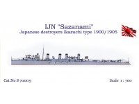 "IJN ""Sazanami"" Japanese Destroyers Ikazuchi 1900/1905"