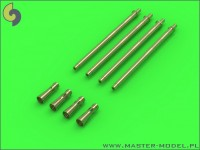 German 2cm L/65 Flak 38 and Flakvierling 38 Gun Barrels (4pcs)