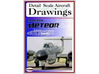 Gloster Meteor (1/72) Detail  Scale  Aircraft  Drawings