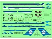 DC-9-32 - PH-DNG City of Rotterdam, PH-DNV City of Warsaw, PH-DNW City of Moscow decals