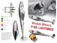 """Wicked Women"" P-38 Lightnings Pt.I"