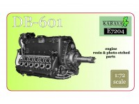 DB-601 Engine – Resin + PE