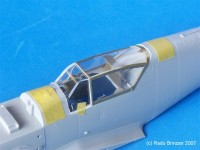 Bf-109 G Erla Detailed Canopy