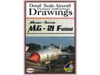 MiG-21 Fishbed (1/72) Detail  Scale  Aircraft  Drawings