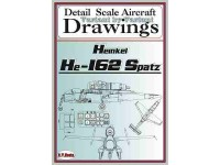 He-162 (1/72,1/48,1/32) Detail  Scale  Aircraft  Drawings