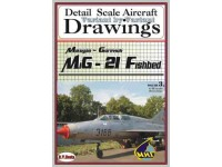 MiG-21 Fishbed Volume 3 (1/48) Detail  Scale  Aircraft  Drawings