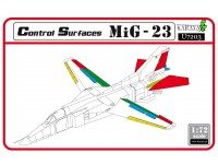 MiG-23 control surfaces set