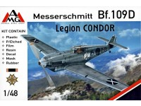 Messershmitt Bf-109D  Legion Condor limited edition