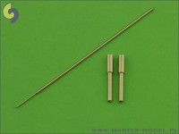 Me-163A Komet - Armament Set (MG 151 barrel tips) & Pitot Tube