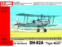 "De Havilland D82A ""Tiger Moth"" Over Spain"