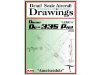 Dornier Do-335 (1/48) Detail  Scale  Aircraft  Drawings