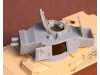 Toldi II (B40) Corrected Turret (without barrel) for Hobbyboss Kit