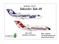 Yakovlev Yak-40 PLL LOT, Institute of Aviation