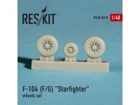 "Lockheed F-104 F/G""Starfighter"" wheels set"