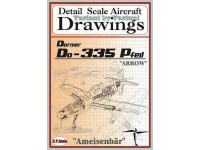 Dornier Do-335 (1/72) Detail  Scale  Aircraft  Drawings