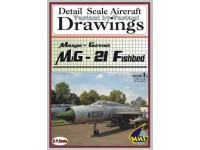 MiG-21 Fishbed Volume 1 (1/48) Detail  Scale  Aircraft  Drawings
