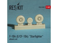 "Lockheed F-104 E, CF-104 ""Starfighter"" wheels set"