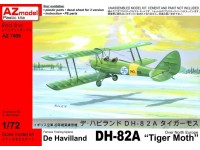 "De Havilland D82A ""Tiger Moth"" Over North Europe"