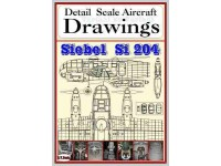 Si-204  (1/72,1/48) Detail  Scale  Aircraft  Drawings
